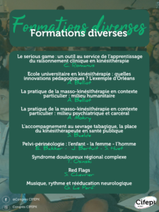 Formations diverses